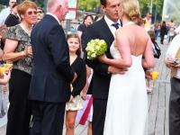 Hochzeit auf der Alster