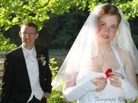 Mit Unterschrift im Ehering