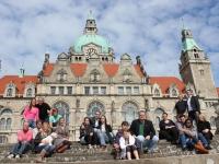 Family Date am Rathaus von Hannover